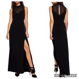 BCBGENERATION Side Slit Evening Dress